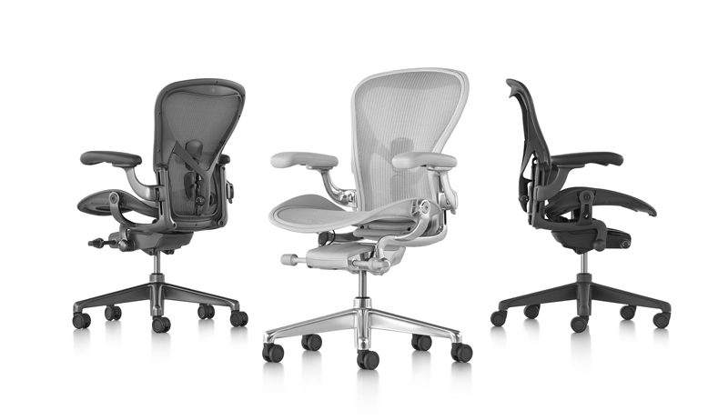 New Herman Miller Aeron Remastered